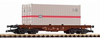 Piko 37747 G-Containertragwg. mit 20 ft. Container DB IV