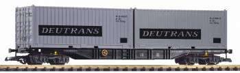 Piko 37752 G-Containertragwg. mit 2 Containern Deutrans DR IV